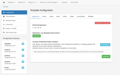 Responsive SCSS Bootstrap 3 Template