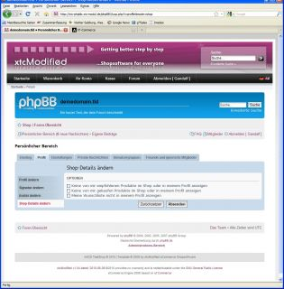 phpBB3 Forum Integration